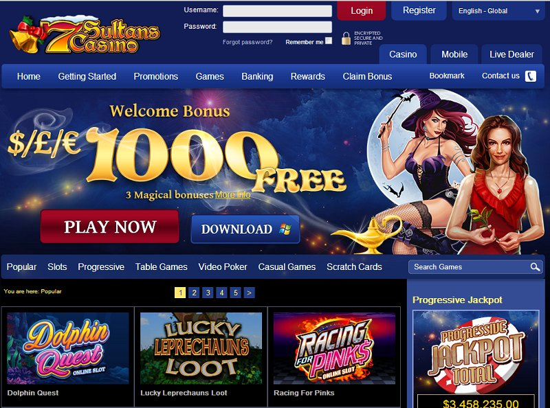 7sultans online casino spotlight 29 casino entertainment